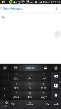 Turkish for GO Keyboard screenshot 4