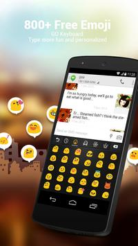 Ukrainian for GOKeyboard-Emoji screenshot 1