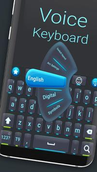 New voice keyboard poster