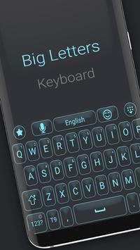 Big letters keyboard screenshot 1