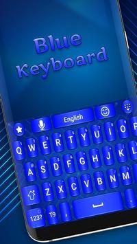 Blue keyboard theme screenshot 1