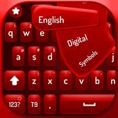 Red velvet keyboard icon