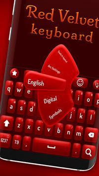 Red velvet keyboard poster