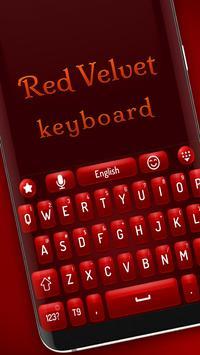 Red velvet keyboard screenshot 1