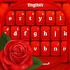 Czerwona Róża Klawiatura ikona