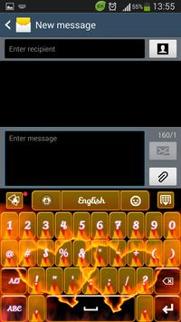 Fire Hearts Keyboard screenshot 3