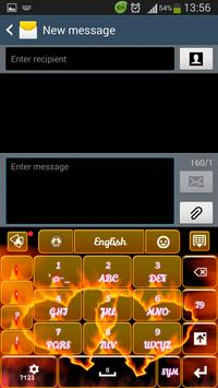 Fire Hearts Keyboard screenshot 5