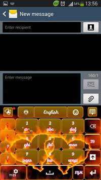 Fire Hearts Keyboard screenshot 6