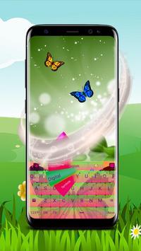 Colorful Butterfly Keyboard screenshot 2