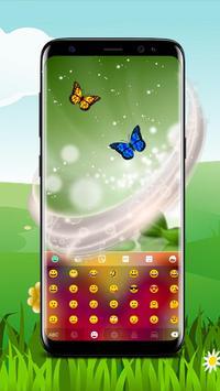 Colorful Butterfly Keyboard screenshot 3