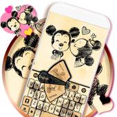Cartoon Keyboard Theme icon