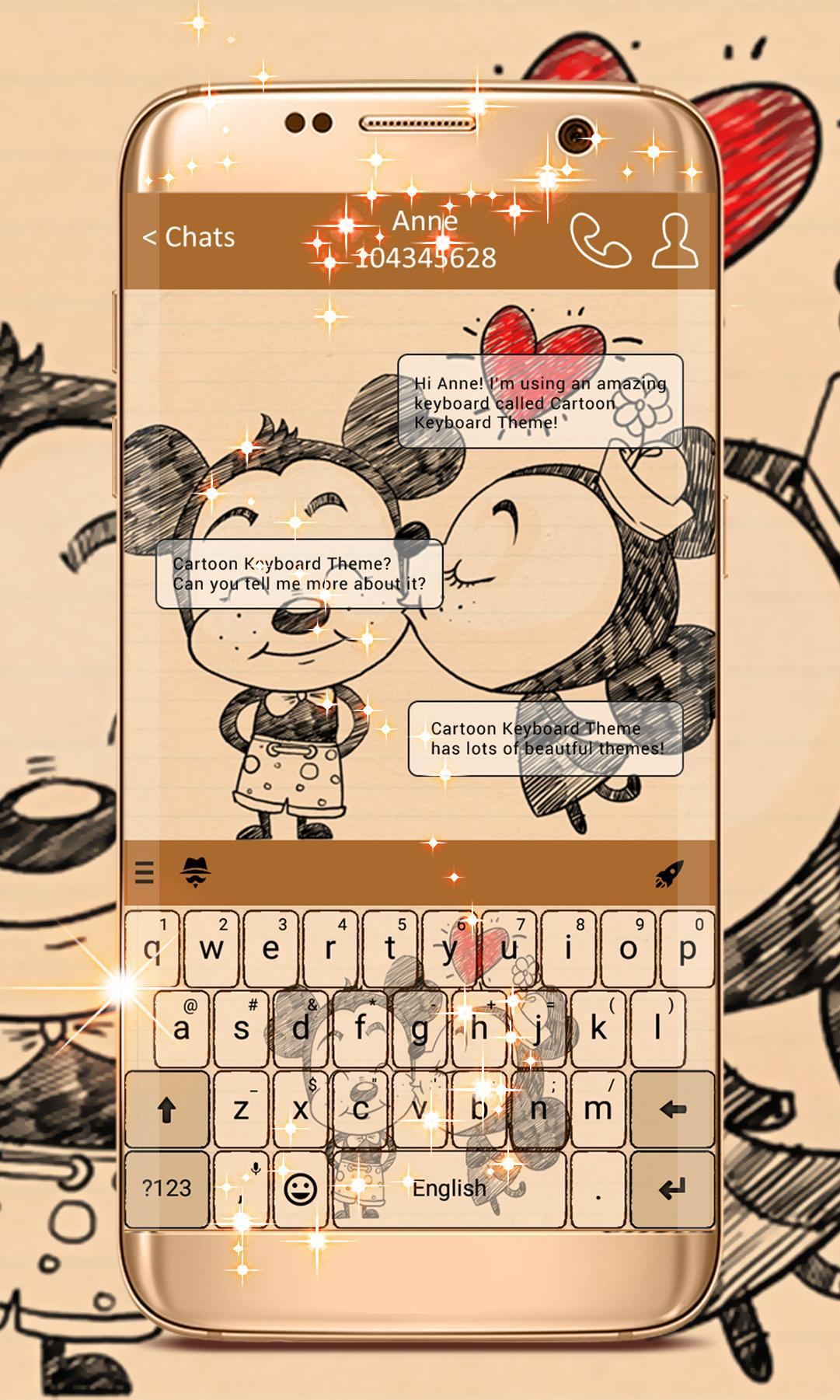 Cartoon Keyboard Theme For Android Apk Download