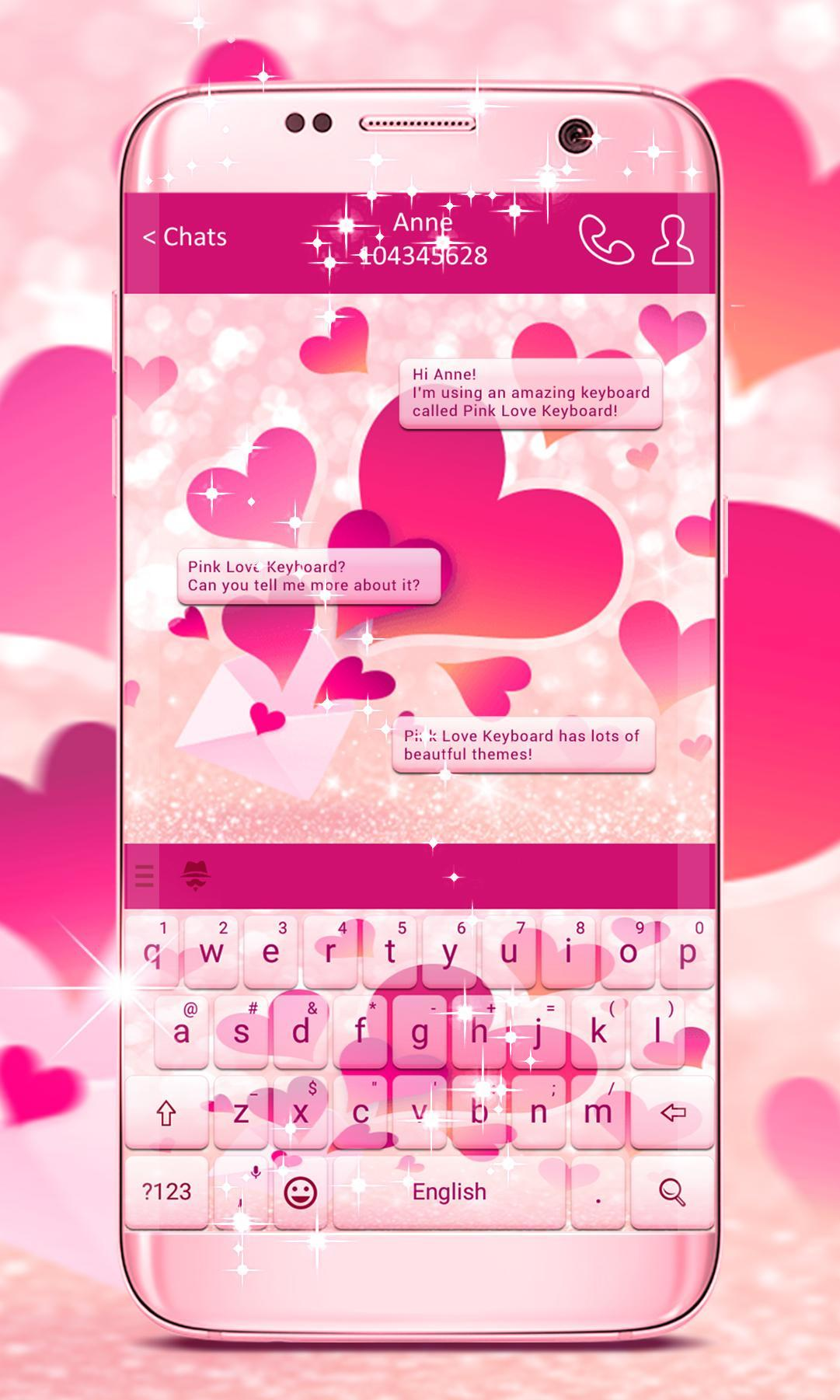 Pink Love Keyboard for Android - APK Download