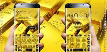 Pure Gold GO Keyboard Theme