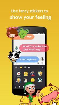 GO Keyboard Lite screenshot 4
