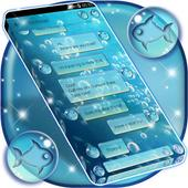 Water Bubbles SMS Theme icon