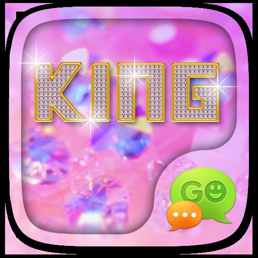 GO SMS KING THEME