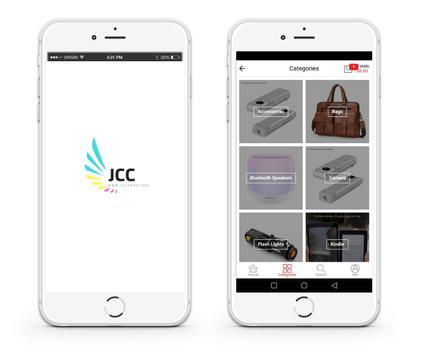 JCC Zone - Online Shopping poster