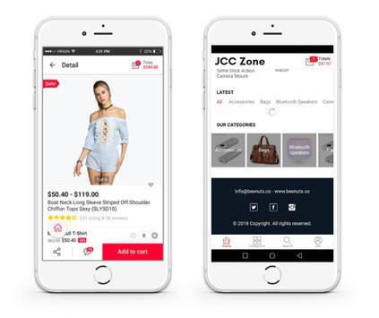 JCC Zone - Online Shopping screenshot 1