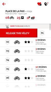 Vélo'v officiel screenshot 2