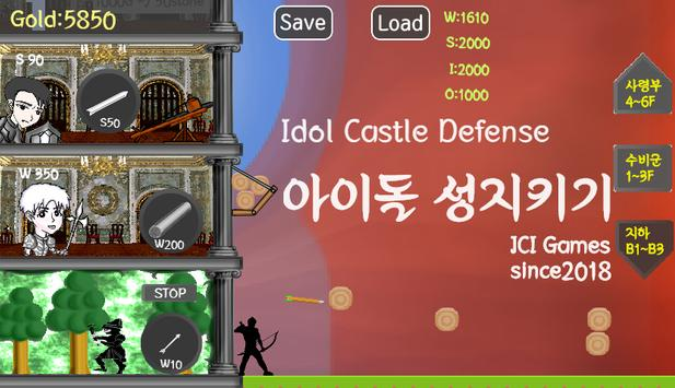Idol Castle Defense poster