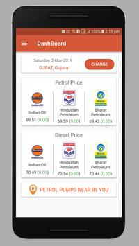 Daily Fuel Rate India screenshot 1