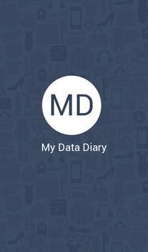 My Data Diary screenshot 1
