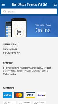 Meri Marze Services Pvt Ltd screenshot 1
