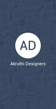 Akruthi Designers الملصق