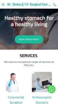 Dr. Bodas G I & Surgical Care poster