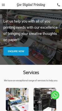Gee Digital Printing poster