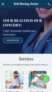 Kriti Nursing Service screenshot 1