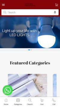 LED WORLD Lighting Solution poster