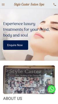 Style Caster Salon  Spa screenshot 1