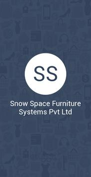 Snow Space Furniture Systems P poster