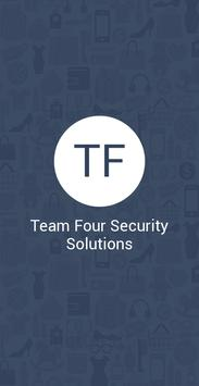 Team Four Security Solutions poster