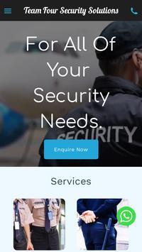 Team Four Security Solutions screenshot 1