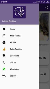 Saloon Booking screenshot 4