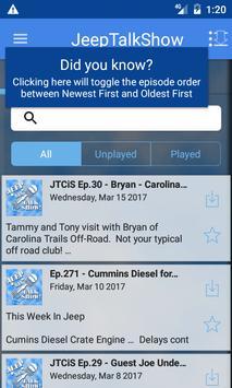 Jeep Talk Show screenshot 1