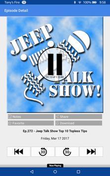 Jeep Talk Show screenshot 3