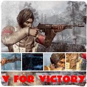V for Victory أيقونة