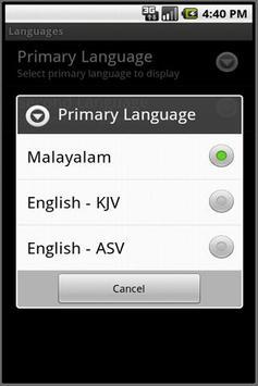 Malayalam Bible screenshot 6
