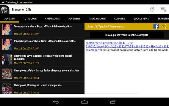 Bianconeri 24h screenshot 5
