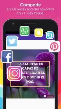 Frases de Amistad con Flores screenshot 5