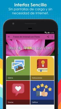 Frases de Amistad con Flores screenshot 7