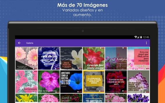 Frases de Amistad con Flores screenshot 8