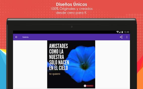 Frases de Amistad con Flores screenshot 9
