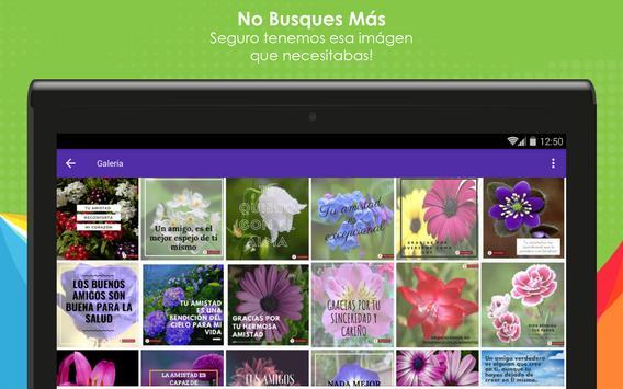 Frases de Amistad con Flores screenshot 10