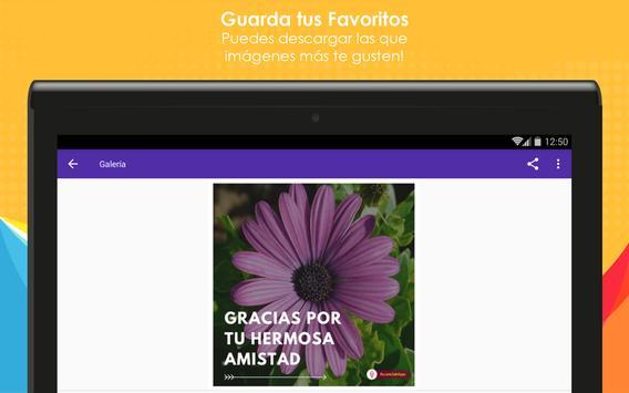 Frases de Amistad con Flores screenshot 11