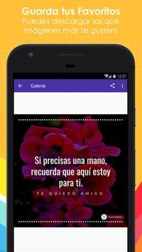 Frases de Amistad con Flores screenshot 3
